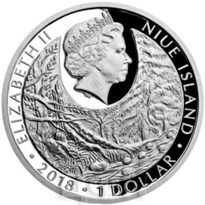 Ниуэ 1 доллар 2018 «Угроза природе» (аверс).jpg