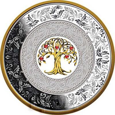 Ниуэ 25 долларов 2018 «Дерево Удачи» (реверс).jpg