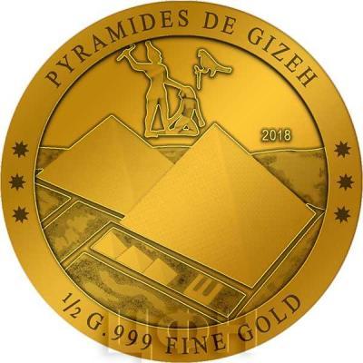 Кот-д'Ивуар 100 франков 2018 «Пирамида Хеопса»(реверс).jpg