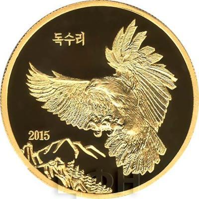 Северная Корея 15000 северокорейских вон 2015 год «Орёл» (реверс).jpg