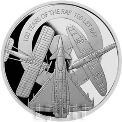 Ниуэ 25 долларов 2018 серебро «100 лет RAF» (реверс).jpg