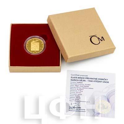 Ниуэ 25 долларов 2018 золото «Революционные восьмерки» (упаковка).jpg