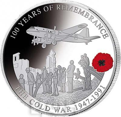 Соломоновы Острова 1 доллар  2018 «THE COLD WAR 1947-1991» (реверс).jpg
