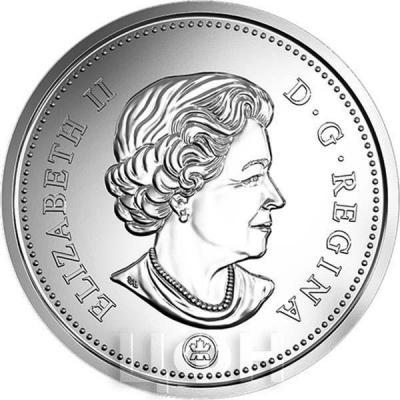 Канада разменная монета (аверс).jpg