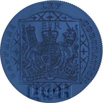 Фолклендские острова 1 крона 2018 «Герб» (реверс).jpg