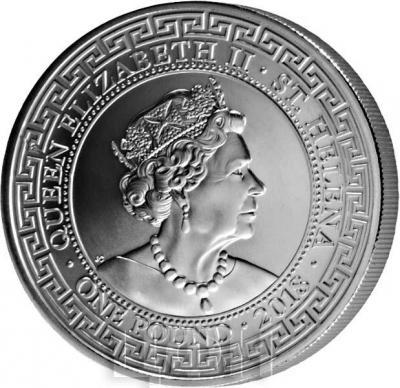 Остров Святой Елены 1 фунт 2018 года «Торговый доллар» (аверс).jpg