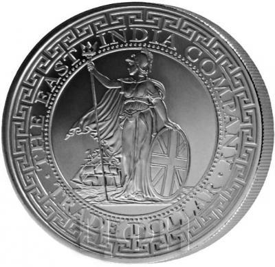 Остров Святой Елены 1 фунт 2018 года «Торговый доллар» (реверс).jpg