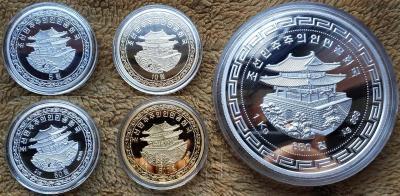 Северная Корея набор монет 2018 год (аверс).jpg