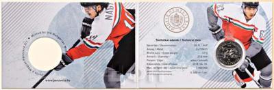 Венгрия 50 форинтов «Чемпионат мира по хоккею с шайбой 2018 года в I-м дивизионе» (реверс).jpg