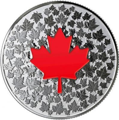 Канада 5 долларов 2018 «Кленовый лист» (реверс).jpg