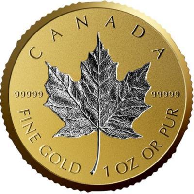 Канада 200 долларов 2018 «Кленовый лист» (реверс).jpg
