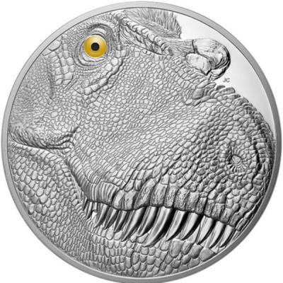 Канада 250 долларов 2018 «Tyrannosaurus Rex» (реверс).jpg