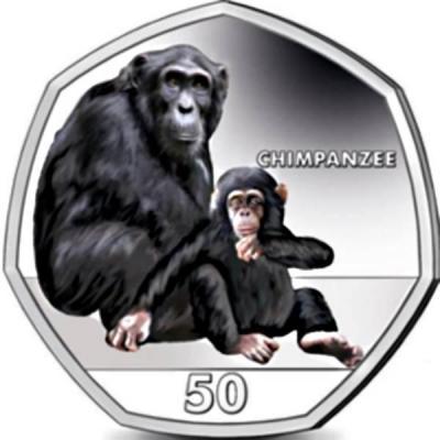 Гибралтар 50 центов «Шимпанзе» (реверс).jpg