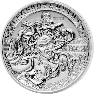 Соломоновы острова 5 долларов 2018 год  «Горгона Медуза» (реверс)).jpg