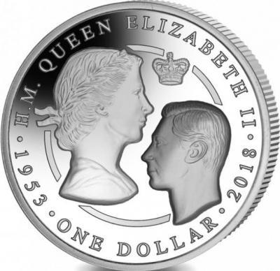 Британские Виргинские острова 1 доллар «65 лет коронации королевы Елизаветы II» (реверс).jpg