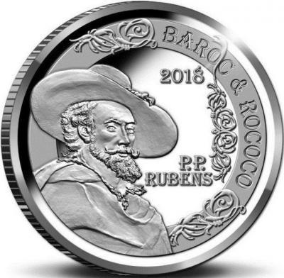 Бельгия 10 евро 2018 год «Рубенс» (реверс).jpg