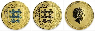 Гибралтар 5 фунтов 2018 года «Герб Англии».jpg