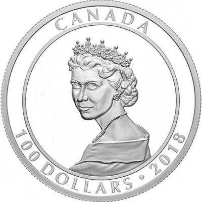 Канада 100 долларов 2018 год «Портрет принцессы» (реверс).jpg