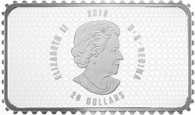 Канада 20 долларов 2018 год «Исторические марки» (аверс).jpg