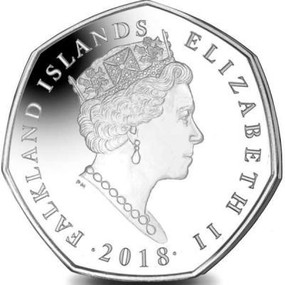 Фольклендские острова 50 пенсов 2018 года  (авер).jpg