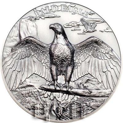 Острова Кука 5 долларов 2018 «Белоголовый орлан» (реверс).jpg
