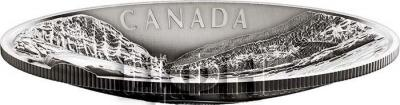 Канада 250 долларов 2018 «VOYAGEURS Concave Shape» (реверс).jpg