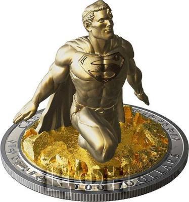 Канада 100 долларов 2018 «Супермен Скульптура 3D» (реверс).jpg