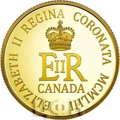 Канада 10 долларов 2018 «Коронация» (реверс).jpg