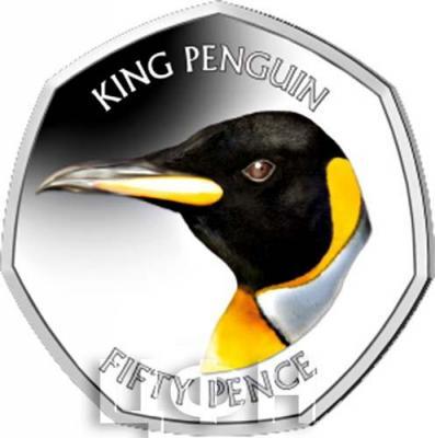 Фолклендские острова 50 центов 2018 «KING PENGUIN» (реверс).jpg