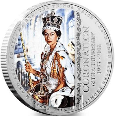 Гернси 5 фунтов  2018 года «65-я годовщина коронации Королевы Елизаветы II» (реверс).jpg