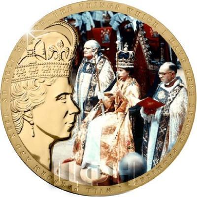 Гернси 50 пенсов 2018 года «65-я годовщина коронации Королевы Елизаветы II» (реверс).jpg