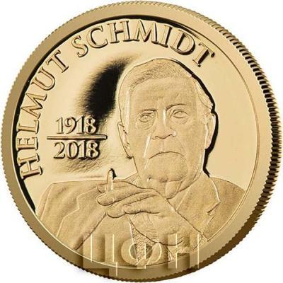 Сомали 20 шиллингов 2018 год  «Гельмут Генрих Вальдемар Шмидт» (реверс).jpg
