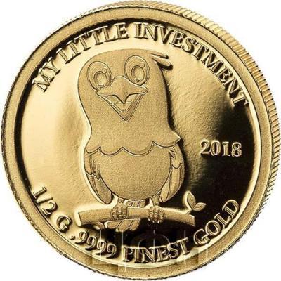 Соломоновы острова 10 долларов 2018 год «Птенец орла» (реверс).jpg
