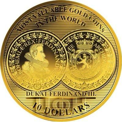 Соломоновы острова 10 долларов 2018 год «Ferdinand III.  40 Dukaten 1629» (реверс).jpg