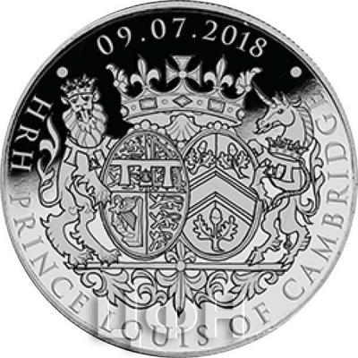 Гибралтар 5 фунтов 2018  «Крещение принца Луи».(реверс).jpg