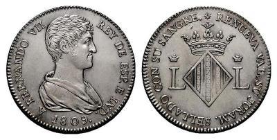 FERNANDO VII  Valencia. 2 reales. 1809. Proclamación..jpg