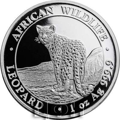Сомали 100 шиллингов 2018 год  «Леопард» (реверс).jpg