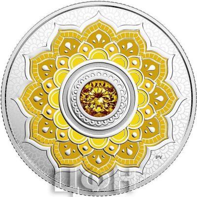 Канада 5  долларов 2019 «камень ноября» (реверс).jpg