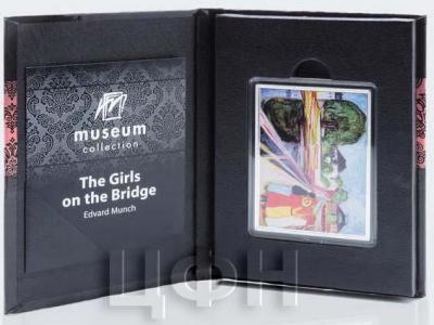 Самоа полдоллара 2018 год «Девушки на мосту» (реверс).jpg