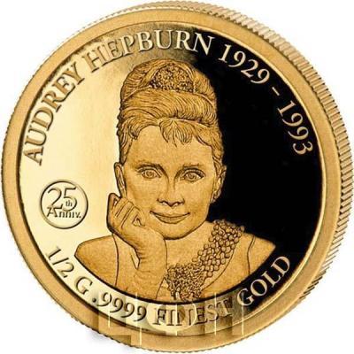 Соломоновы острова 10 долларов 2018 год «AUDREY HEPBURN 1929 - 1993» (реверс).jpg