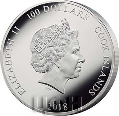 Острова Кука 100 долларов 2018 год (аверс).jpg