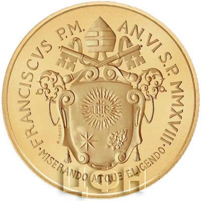 Ватикан 50 евро «Пятидесятница» (реверс).jpg