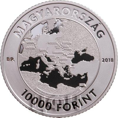 Венгрия 2000 форинтов 2018 год  «100 летие окончания Первой мировой войны» (аверс).jpg