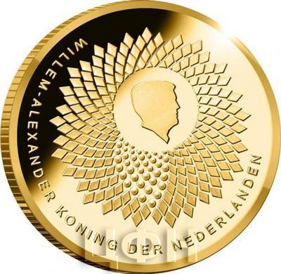 Нидерланды 10 евро 2018 год «100 лет Университету Вагенингена» (аверс).jpg
