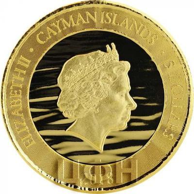 Каймановы острова 5 долларов 2018 год «Марлин» (аверс).jpg