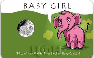 Сомали 10 шиллингов 2018 год  «Слон» для девочек (реверс).jpg