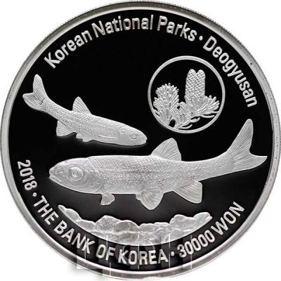 Корея Южная 30000 вон 201 8 год «Горы Тогюсан» (аверс).jpg