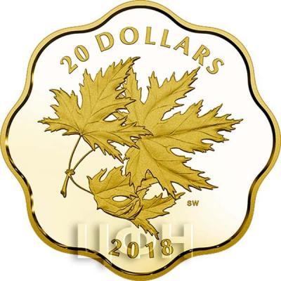 Канада 20 долларов «Кленовые листья» (реверс).jpg