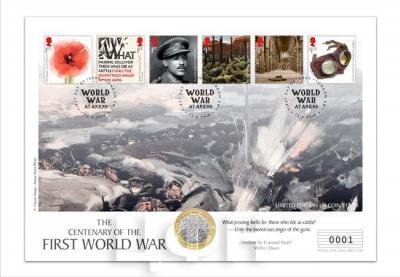 Numisbrief Великобритания «100-летие окончания Первой мировой войны».jpg