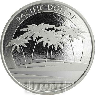 Фиджи 1 доллар 2018 год «PACIFIC DOLLAR» (ркверс).jpg